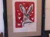 Print Heart Hare